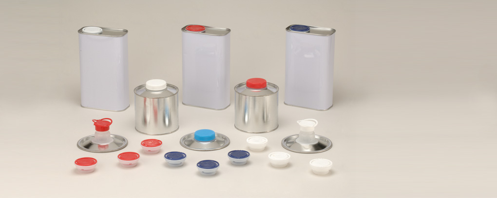 FLEXIBLE/SCREW  CLOSURES  FOR  METAL CANS