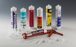 矽利康填缝剂用胶管