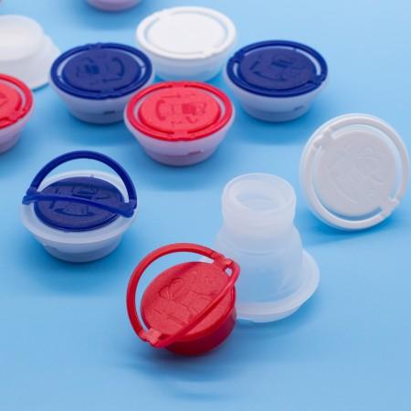Cierres flexibles (tapas) │Tapas flexibles, tapas de boquilla, tapa de boquilla para latas de aceite