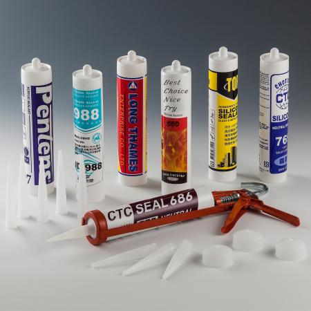 Cartucho impreso - Cartucho de PE para sellador de silicona - Cartucho de PE para sellador de silicona - Cartucho impreso