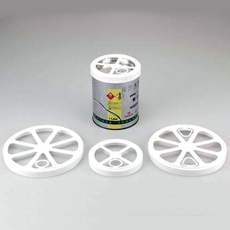Tapas de plástico para pinturas - Tapas de plástico para latas de pinturas