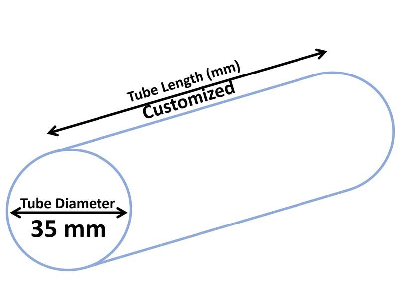 Tubo cosmético dia 35 mm