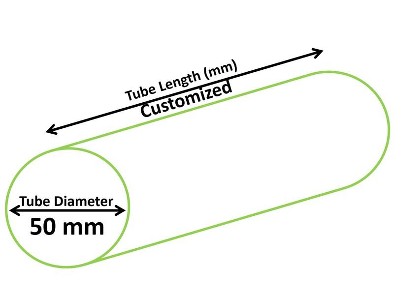 Diamètre 50mm Tube Cosmétique