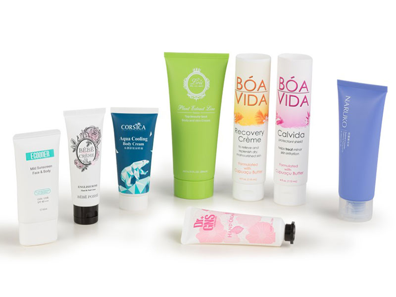 Customized Cosmetic tube packaging