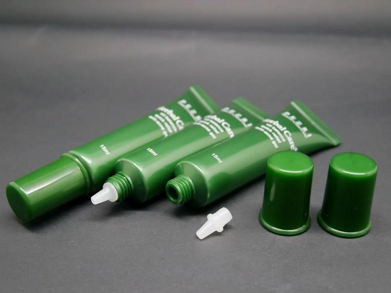 Tabung kosmetik Ujung Nosel + Tutup Sekrup untuk krim anti-kerut
