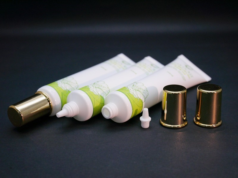 Nozzle Tip Screw Cap for small volume cosmetic tube