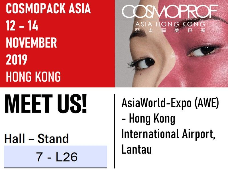 Exibition of Cosmopack in Hong Kong