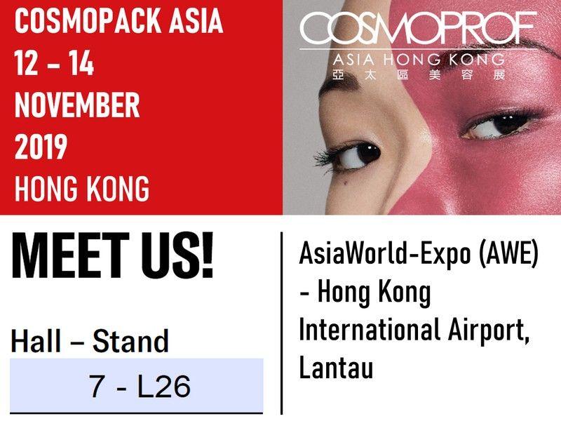 Exibition of Cosmopack in Hong Kong