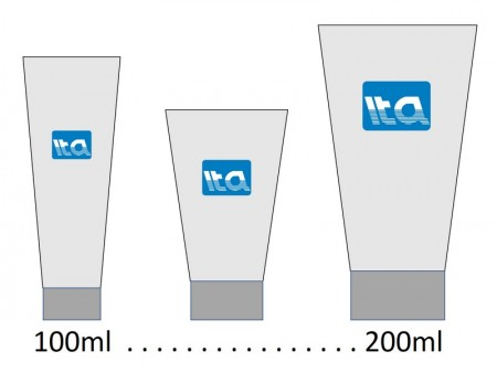 100ml - 200ml Tabung Perawatan Kulit - 100ml-200ml tabung