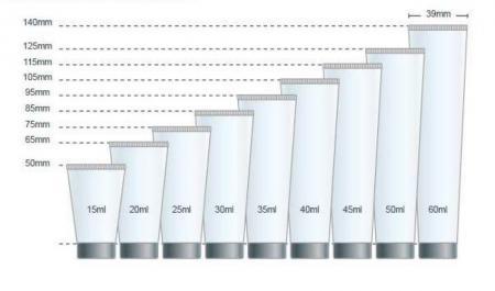Bagan Volume Diameter 25mm Kemasan Tabung Lembut