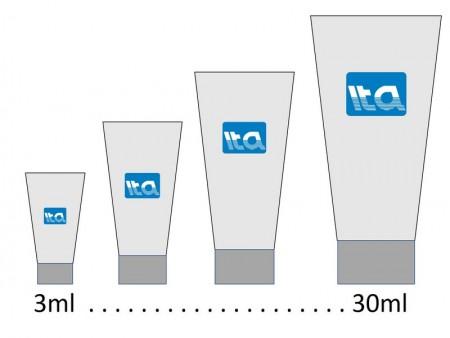 3ml - 30ml Personal Care Tube - 3ml-30ml tube