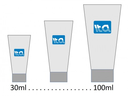 30ml - 100ml Tabung Perawatan Kulit - 30-100ml tabung