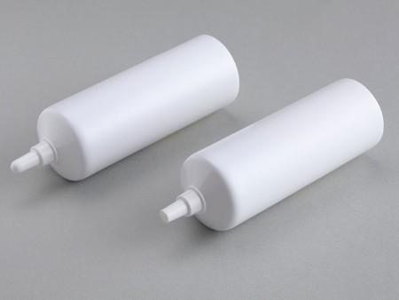 D40mm Short Nozzle Tip Soft Tube คอนเทนเนอร์สำหรับน้ำมันเกียร์ - น้ำมัน ปลายท่อหัวฉีดสั้น 40-2.5 ซม.