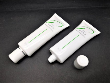 Oval Tube + Screw Cap for 120ml herbal cream - Oval Tube + Screw Cap for 120ml herbal cream