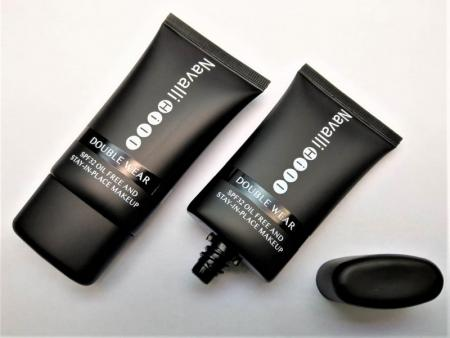 Makeup Primer Foundation Soft Tube with Oval Screw Cap - Skincare packaging tube with oval screw cap for hand cream, toining, or facial moisturiser.