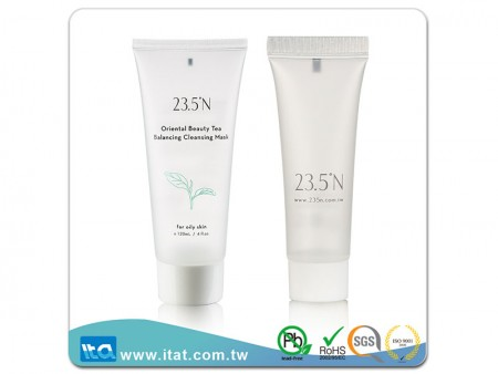 Matte Transparent Skincare Tube with 2 Colors Printing