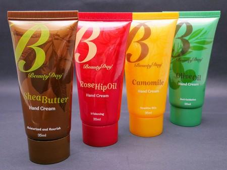Cuidado personal Loción corporal Crema de manos Contenedor Tubo flexible - Cuidado personal cuerpo loción crema de manos envase tubo.