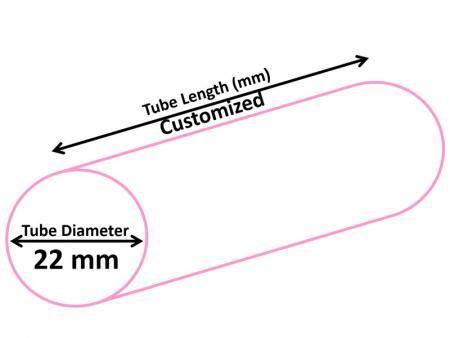 22mm Cosmetic Tube - Dia 22mm Cosmetic Tube