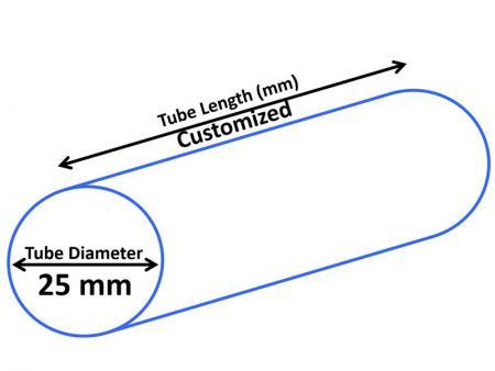 25mm Cosmetic Tube - Dia 25mm Cosmetic Tube
