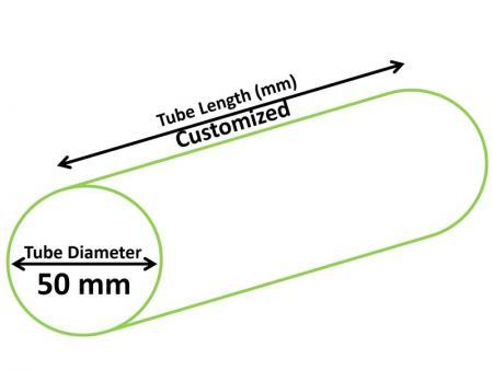 50mm Cosmetic Tube - Dia 50mm Cosmetic Tube