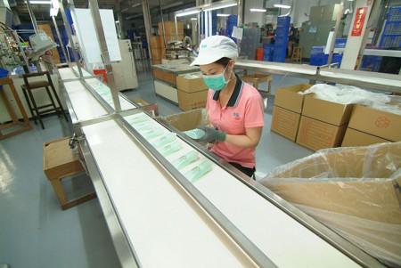 Tube tail sealing machine.