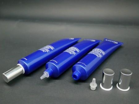 30ml Nozzle Tip tube with Aluminum Screw Cap - 30ml Nozzle Tip + Aluminum Screw Cap for luxury cosmetic tube