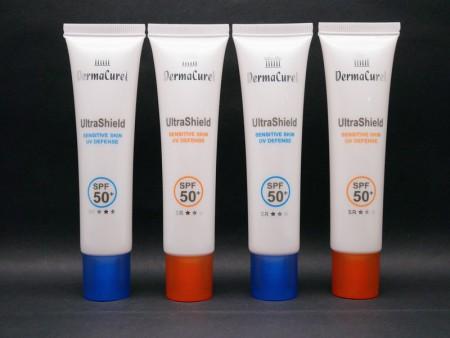 Tapón de rosca alto para tubo cosmético protector solar