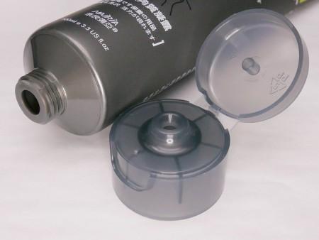 Flip Top Cap for 100ml facial scrub cosmetic tube