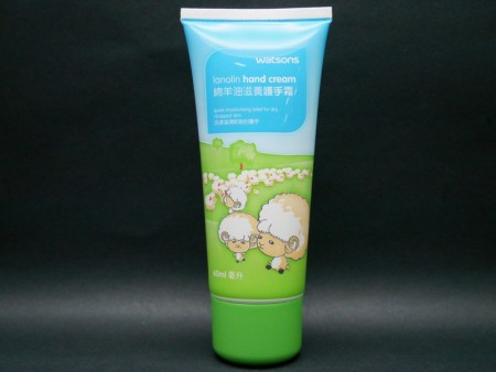 Screw Cap with lanolin cream tube packaging