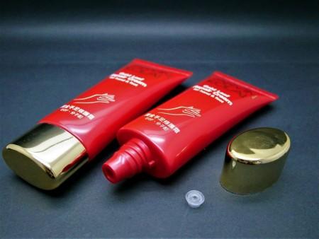 Tabung Oval dengan Tutup Sekrup untuk memperbaiki tabung krim - Tabung Oval + Tutup Sekrup untuk memperbaiki tabung krim