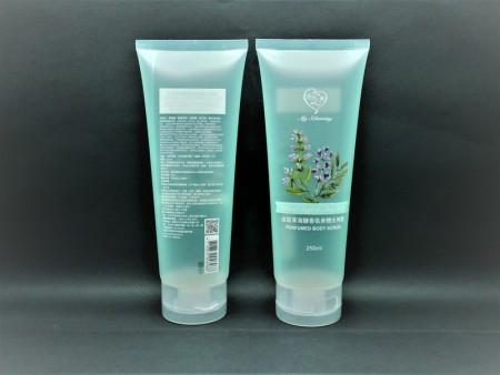Flip Top Cap untuk tabung scrub tubuh wangi 300ml - Flip Top Cap untuk tabung scrub tubuh wangi 300ml