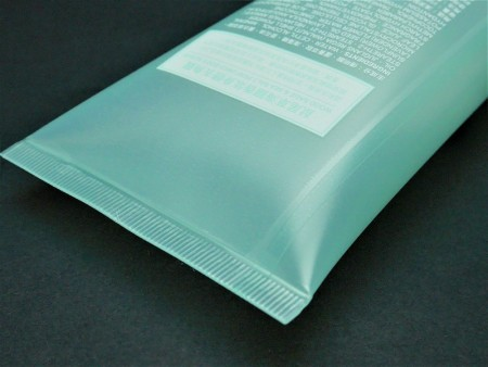 Flip Top Cap for 300ml perfumed body scrub labeling tube
