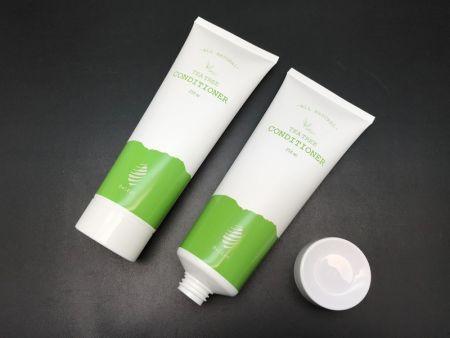 Contenitore per la cura della pelle del tubo di plastica del balsamo dell'albero del tè naturale - Contenitore per la cura della pelle del tubo di plastica del balsamo dell'albero del tè naturale