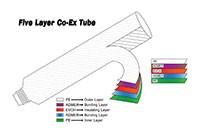 EVOH高阻隔氣密五層共擠壓軟管