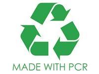 Tubo cosmético PCR (reciclado posconsumo)