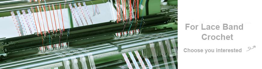Seri Mesin Crochet Lace Band Otomatis Kecepatan Tinggi