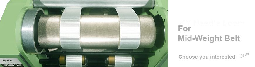 Mittelgewichtige Narrow Fabric Needle Loom-Serie