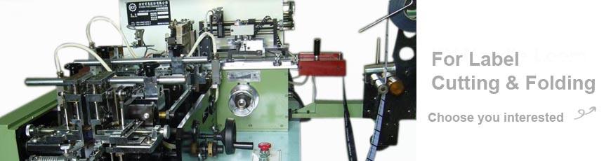 Serie de máquinas de corte y plegado de etiquetas