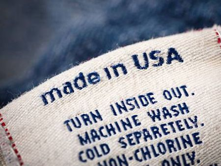 Garment accessories for woven label.