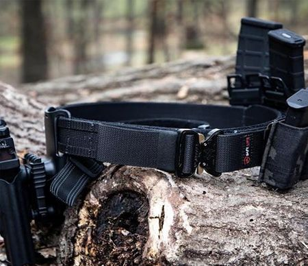 Textile accessories for military belt.