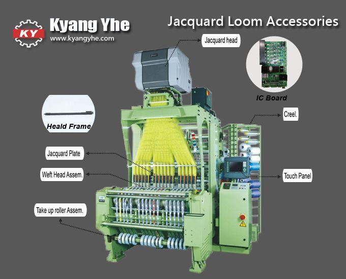 Professional Computer Jacquard Label Loom Machine | Textile