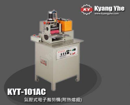 氣壓式電子裁剪機 (附熱熔組) - KYT-101AC 氣壓式電子裁剪機 (附熱溶組)