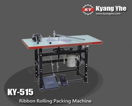 Ribbon Rolling Packing Machine - KY-515 Ribbon Rolling Packing Machine
