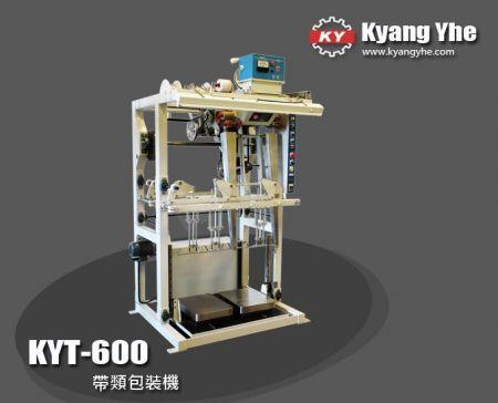 落箱式帶類包裝機 - KYT600 落箱式帶類包裝機