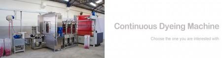 Dòng máy nhuộm Ribbons liên tục - Máy nhuộm ruy băng liên tục
