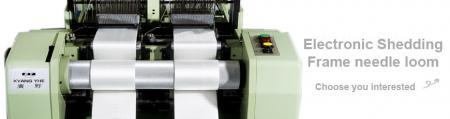 Electron Frame Needle Loom Series - Electron Frame Needle Loom Machine Series