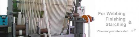 Dòng máy hoàn thiện và tinh luyện ruy băng - Máy hoàn thiện và tinh bột ruy băng