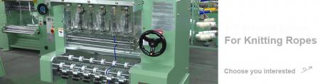 High Speed Cord Knitting Machine Series - High Speed Cord Knitting Machine Series