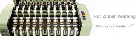 High Speed Automatic Zipper Needle Loom Machine Series - High Speed Zipper Loom Machine Series