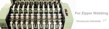 Seri Mesin Tenun Jarum Ritsleting Otomatis Kecepatan Tinggi - Seri Mesin Tenun Ritsleting Kecepatan Tinggi